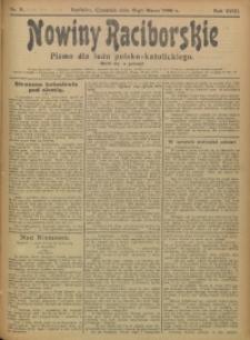 Nowiny Raciborskie, 1906, R. 18, nr 31