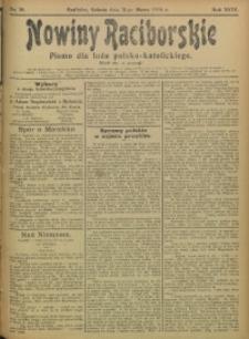 Nowiny Raciborskie, 1906, R. 18, nr 38
