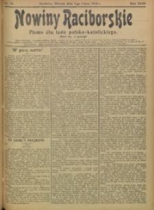 Nowiny Raciborskie, 1906, R. 18, nr 76