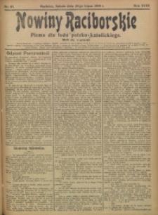 Nowiny Raciborskie, 1906, R. 18, nr 87