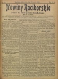 Nowiny Raciborskie, 1906, R. 18, nr 105