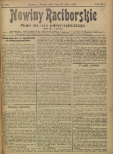 Nowiny Raciborskie, 1906, R. 18, nr 106