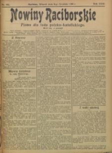 Nowiny Raciborskie, 1906, R. 18, nr 142