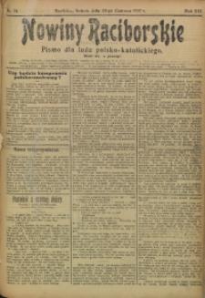 Nowiny Raciborskie, 1907, R. 19, nr 74