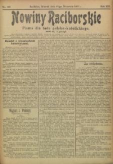 Nowiny Raciborskie, 1907, R. 19, nr 108