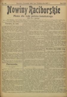 Nowiny Raciborskie, 1907, R. 19, nr 118
