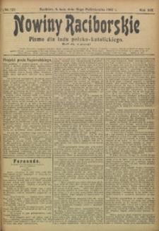 Nowiny Raciborskie, 1907, R. 19, nr 125