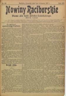 Nowiny Raciborskie, 1907, R. 19, nr 133