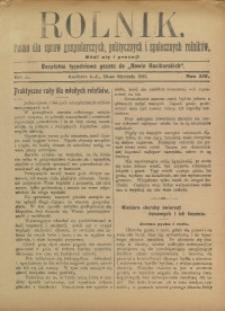 Rolnik, 1907, R. 14, nr 2