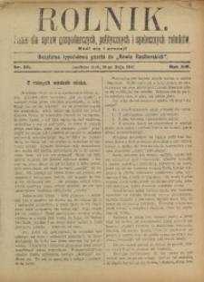Rolnik, 1907, R. 14, nr 20