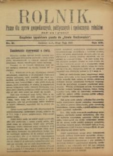 Rolnik, 1907, R. 14, nr 21
