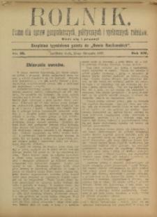 Rolnik, 1907, R. 14, nr 33