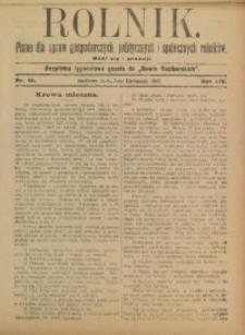 Rolnik, 1907, R. 14, nr 45