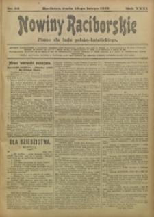 Nowiny Raciborskie, 1919, R. 31, nr 22