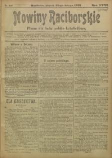 Nowiny Raciborskie, 1919, R. 31, nr 26