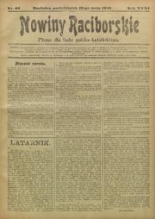 Nowiny Raciborskie, 1919, R. 31, nr 60