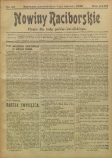 Nowiny Raciborskie, 1919, R. 31, nr 66