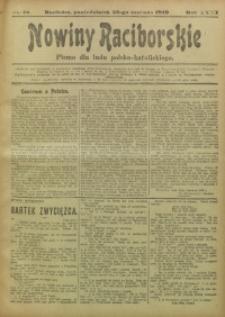 Nowiny Raciborskie, 1919, R. 31, nr 78