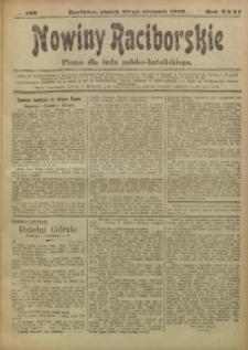 Nowiny Raciborskie, 1919, R. 31, nr 103