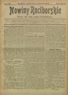 Nowiny Raciborskie, 1919, R. 31, nr 115