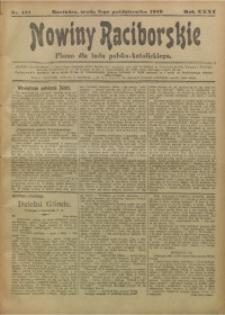 Nowiny Raciborskie, 1919, R. 31, nr 121