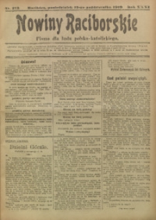 Nowiny Raciborskie, 1919, R. 31, nr 123