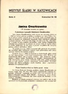 Janina Omańkowska