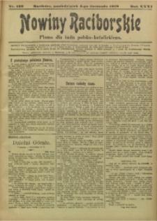 Nowiny Raciborskie, 1919, R. 31, nr 132