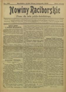 Nowiny Raciborskie, 1919, R. 31, nr 142