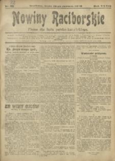 Nowiny Raciborskie, 1920, R. 32, nr 72