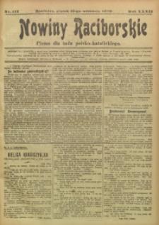 Nowiny Raciborskie, 1920, R. 32, nr 112