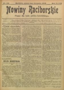 Nowiny Raciborskie, 1920, R. 32, nr 133