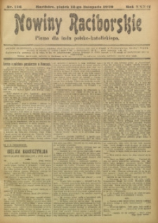 Nowiny Raciborskie, 1920, R. 32, nr 136