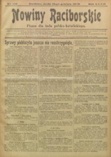 Nowiny Raciborskie, 1920, R. 32, nr 150