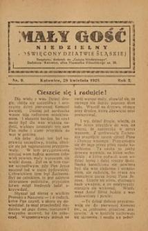 Mały Gość Niedzielny, 1928, R. 2, nr 9