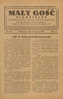 Mały Gość Niedzielny, 1928, R. 2, nr 20