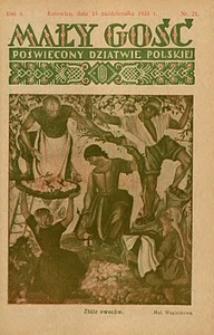 Mały Gość, 1933, R. 8, nr 21