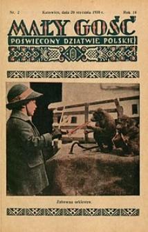Mały Gość, 1935, R. 10, nr 2