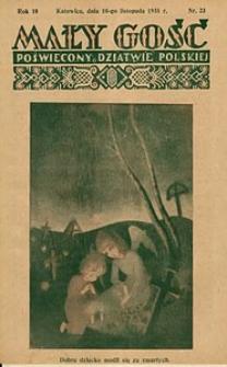 Mały Gość, 1935, R. 10, nr 23