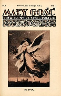 Mały Gość, 1936, R. 11, nr 4