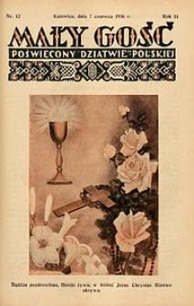 Mały Gość, 1936, R. 11, nr 12