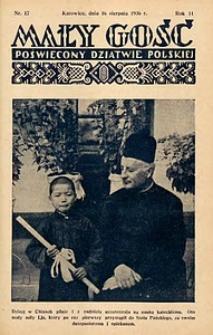 Mały Gość, 1936, R. 11, nr 17
