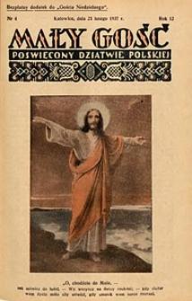 Mały Gość, 1937, R. 12, nr 4