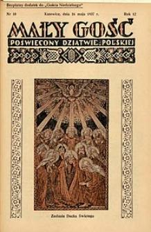 Mały Gość, 1937, R. 12, nr 10