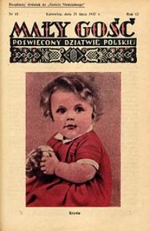 Mały Gość, 1937, R. 12, nr 15