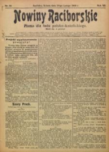 Nowiny Raciborskie, 1908, R. 20, nr 26
