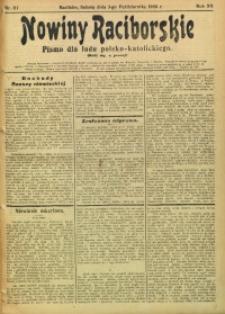 Nowiny Raciborskie, 1908, R. 20, nr 117