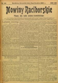 Nowiny Raciborskie, 1909, R. 21, nr 145