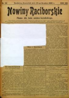 Nowiny Raciborskie, 1909, R. 21, nr 151