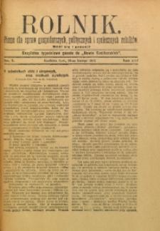 Rolnik, 1909, R. 16, nr 7